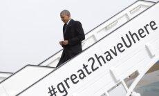 Barackas Obama atvyko į Hanoverį