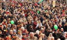 Crowd in Kaunas