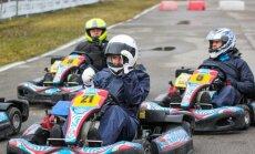 Žurnalistų autoklubo kartingo čempionato V etapas