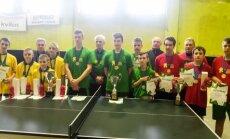 LMŽ kaimo vietovių mokyklų stalo teniso finalai