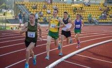 Bėgikai lengvosios atletikos čempionate.