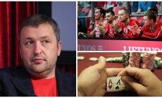 Antanas Guoga, Vilniaus Lietuvos rytas, pokerio žaidimas (DELFI, Reuters-Scanpix nuotr.)