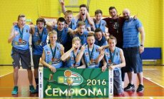 MKL U-16 čempionato nugalėtojai