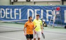 DELFI teniso turnyras. Pirma diena
