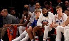 Niūrios nuotaikos Niujorko ekipos gretose.