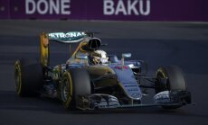 Lewisas Hamiltonas Baku trasoje