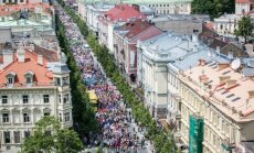 Baltic Pride march