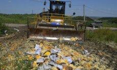 Rusijoje naikinami maisto produktai