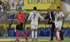 Cristiano Ronaldo ir Zinedinea's Zidane'as