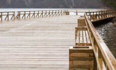 Rekonstruotas tiltas