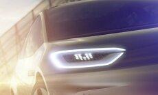Volkswagen elektromobilio užuomina