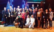 Šiaurės Europos šalių šokių čempionato dalyviai