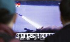 Šiaurės Korėja paleido balistinę raketą į Japonijos jūrą