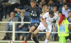 Atalanta ir AC Milan futbolininkų akistata