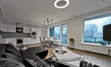 76 kv.m. butas Vilniuje: minimalistinio ir modernaus stilių dvikova