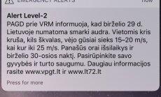 PAGD prie VRM įspėjimas