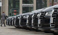 Pareigūnai apsilankė Audi būstinėje