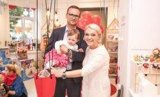 Agnė Grigaliūnienė su šeima