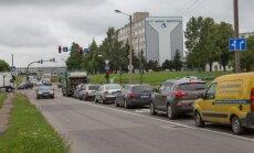 Garažų ir Taikos gatvių sankryža Kaune