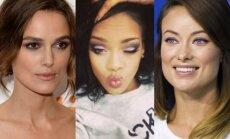 Keira Knightley, Rihanna, Olivia Wilde