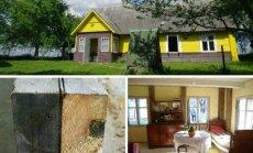 Senovinės medinės sodybos rekonstrukcija/ V. Stumbrio nuotr.