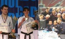 Eventas Gužauskas ir Inga Mikštaitė tapo Europos čempionais, nors lietuviams teko ir pateikti keletą protestų