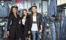 """Stilingi svečiai rinkosi į """"Pando"""" džinsų studijos atidarymą"""