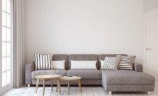 Kokią medžiagą geriau pasirinkti sofai – audinį ar odą?