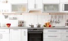 10 patarimų, kaip įsirengti funkcionalią, bet stilingą virtuvę