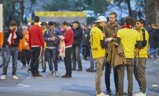 Borussia ir Monaco fanai