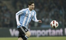 Lionelis Messi įmušė lemtingą įvartį