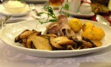 Baravykai su bulvėmis