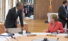 Angela Merkel, Barackas Obama
