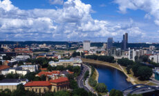 Vilnius, Lietuva, sostinė, Neris