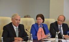 Lietuvoje viešėjo JAV žemės ūkio sekretoriaus pavaduotojas Maiklas Skjusas