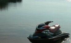 Vandens motociklu ežere raižiusiam vyrui teks sumokėti baudą