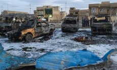 Bagdade sprogo automobilis