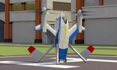 Skraidanti mašina - orlaivis Puffin, NASA inžinieriaus Mark Moore koncepcija