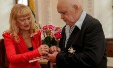 Perlinės Gintaro Patacko ir jo žmonos Tautvydos vestuvės