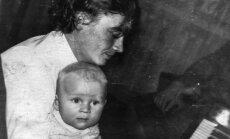 Julius Andrejevas su sūnumi