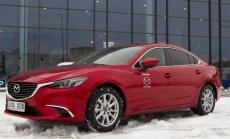 Pirmieji Mazda6 išbandė Uber klientai