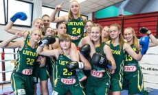 Lietuvos šešiolikmetės krepšininkės tapo boksininkėmis