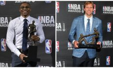 Russellas Westbrookas ir Dirkas Nowitzki (Reuters-Scanpix nuotr.)