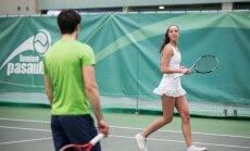 Vilniuje kasmet populiarėjančiame DELFI teniso turnyre paaiškėjo pusfinalių poros