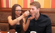 Evelina ir Adamas kruopščiai rinkosi vestuvėms skirtus saldumynus