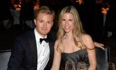 Nico Rosbergas su žmona Vivian