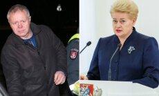 Valerijus Paškevičius ir Dalia Grybauskaitė