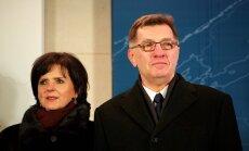 PM Algirdas Butkevičius and his wife Janina