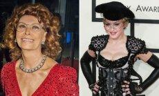 Sofia Loren jaučiasi ir atrodo tobulai, ji ta moteris, kuri puikiai susitvarko su bėgančių metų našta. Dainininkei Madonnai yra, ko iš jos pasimokyti.