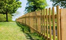 Medinė tvora: pliusai ir minusai